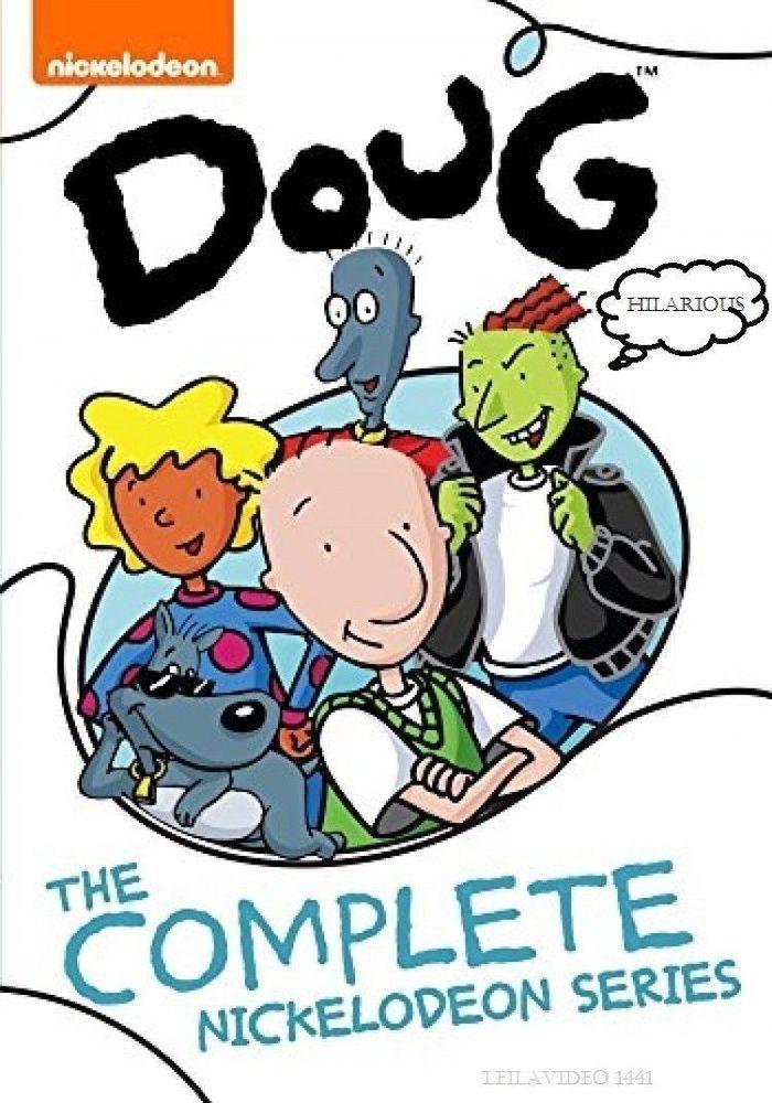 Doug The Complete Nickelodeon Series 52 Episode DVD