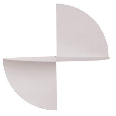 Pivot hylle fra Hay. En unik hylle i skandinavisk design. Hyllen har form av en sirkel som er skåret...