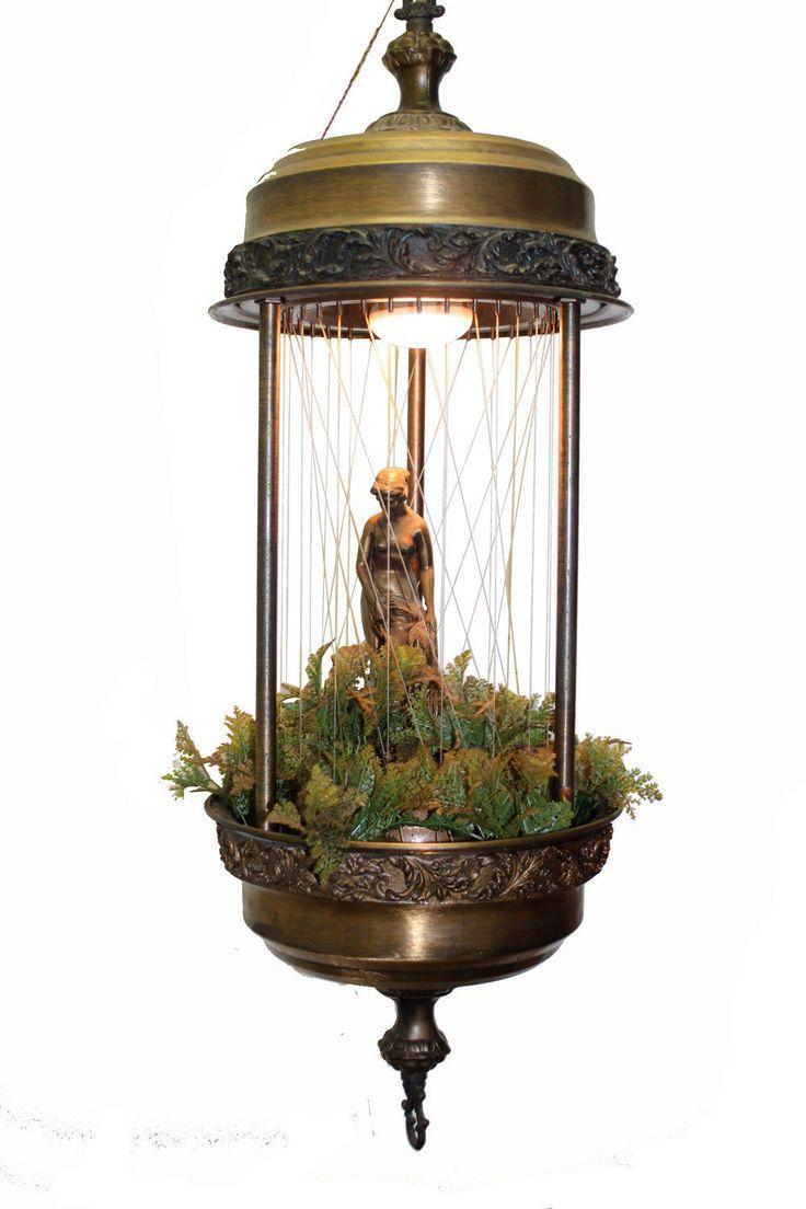 Hanging Goddess Rain Oil Lamp. $199.99, via Etsy. ~ have it ;)