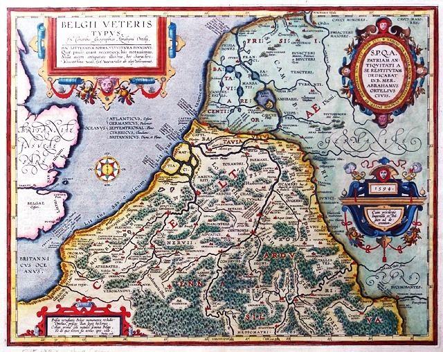 Nederland in Romeinse tijd.