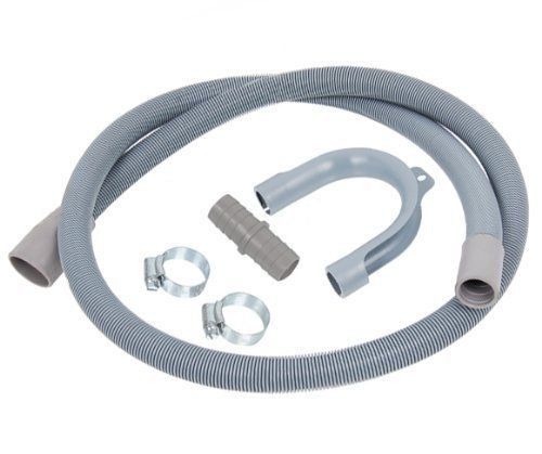 Plumbbest 1.5m Drain Hose Extension For Washing Machines andamp