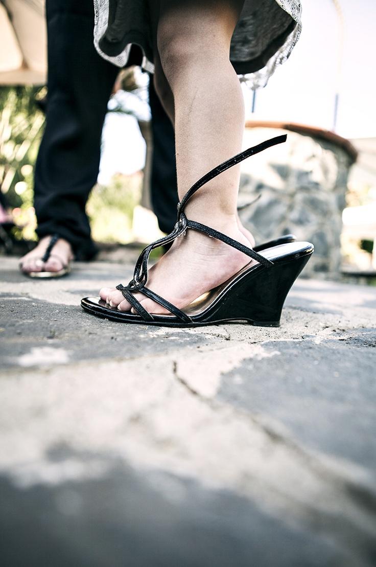 too little to wear high heels