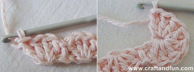 Riciclo Creativo - Craft and Fun: Crochet Neonati: Fascia per Capelli all'Uncinetto per Bimba