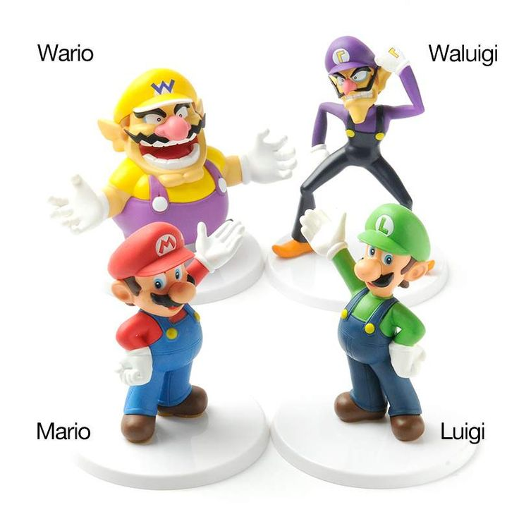 Super Mario Figures Vol. 01- Super Mario is one of Nintendo's most recognizable icons, and the adventures of the eponymous pizza-loving plumber have become a firm favorite with platform game lovers.  If you count yourself among Super Mario's many devotees, you're going to love this cute series of figures celebrating your favorite heroes from the Super Mario universe. There's Mario himself in his classic blue dungarees and little red hat, Luigi with a green hat, Wario in his purple and yellow…