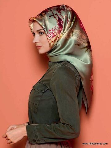 Armine Bahar Silk Hijab