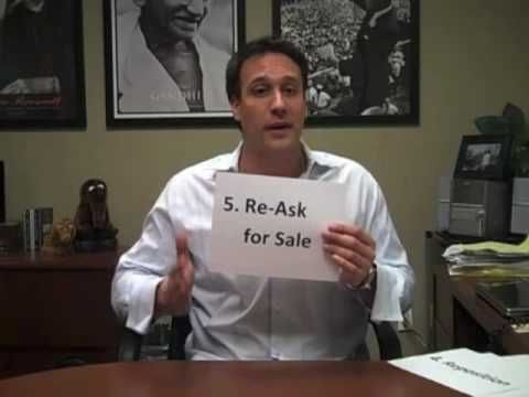 Overcome Objections (5 Simple Steps) - Michael Bernoff. Tips to sales also apply to selling retail in the salon. i love how animated this guy is.
