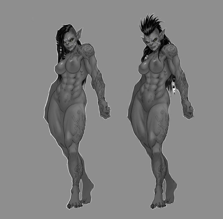 ArtStation - Female Orc Pirate, Dante Fuget