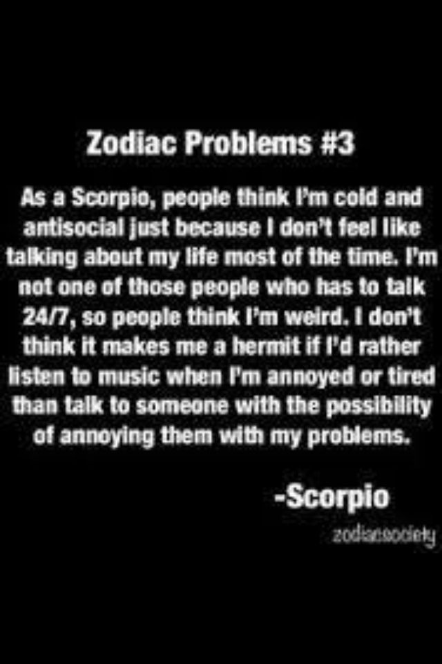 ♏️ This is SOOOO ME! #DeAnna all the way.