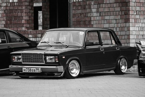 ВАЗ Lada 2107 stance