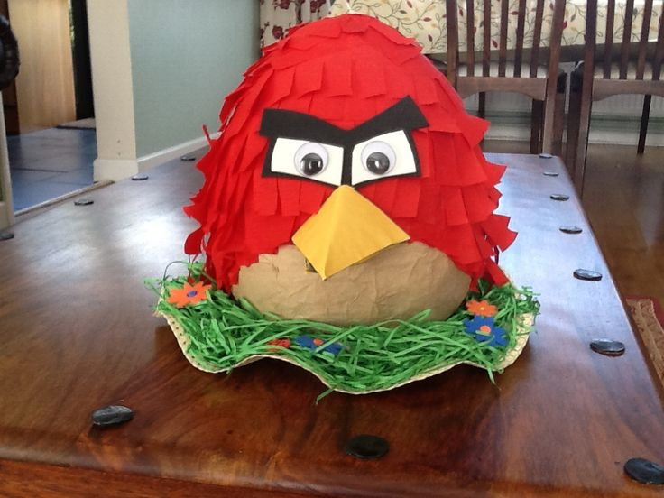 Angry Bird Easter Bonnet