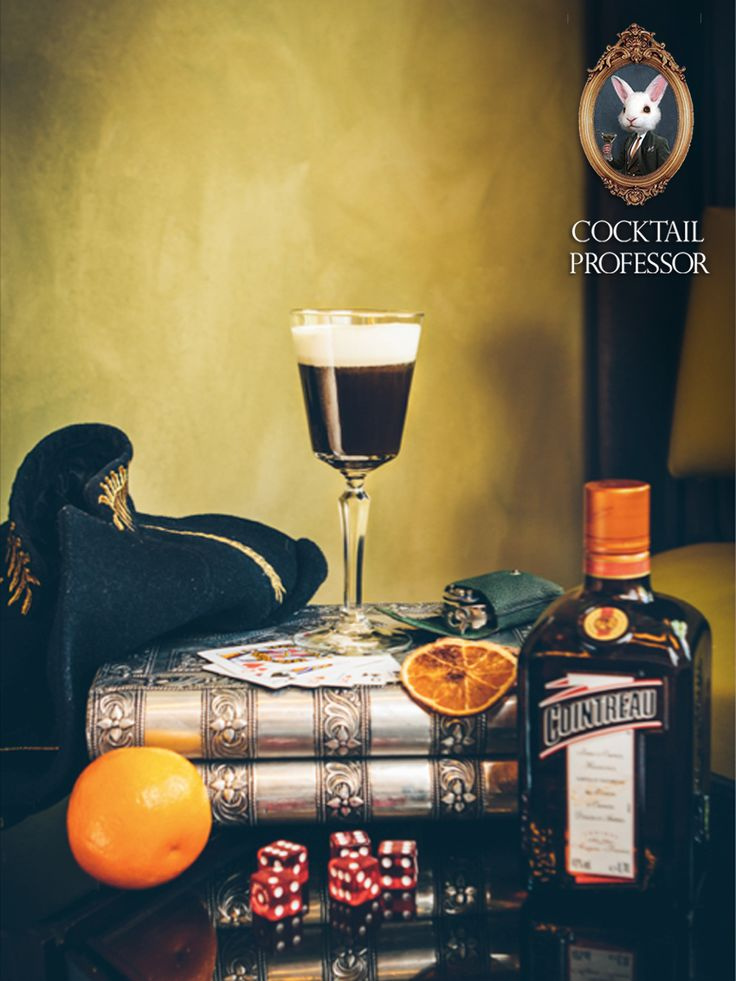 Cocktail Professor consulted Maxxium on flavor and styling for the new inspirational brochure on Coffee Cocktails. The brochure promotes a selection of brands from Maxxium. In it you'll find unique recipes for specialty coffee cocktails and pictures styled by the Cocktail Professor. These are some of the pictures and recipes. If anyone is interested in a training for these Specialty Coffees or would like a brochure. Please let me know.