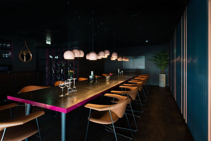 Ling Ling restaurant & cocktailbar in Oslo, Norway. Interior by Radiusdesign.no