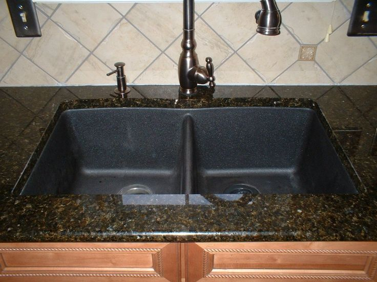 Black Kitchen Sinks  -  Kitchen sinks are integral parts of a kitchen, and are the most-used areas of a kitchen. Having black kitchen sinks looks very nice in any modern kitc...