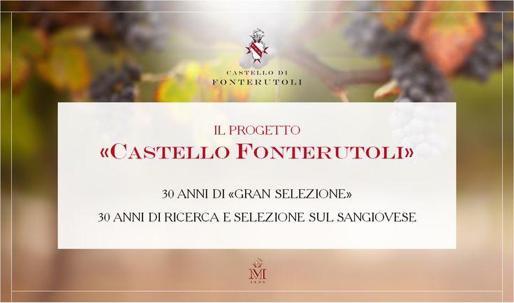 """Ripercorriamo la storia del """"Progetto Castello di Fonterutoli"""" dalle sue origini nel 1985 fino al 2014, l'anno di uscita del Castello di Fonterutoli 2010.  @marchesimazzei #fonterutoli #marchesimazzei #wine #tuscany"""
