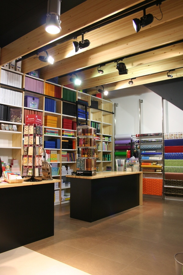 Stationery shop by Puntdefuga , via Behance | Love ...