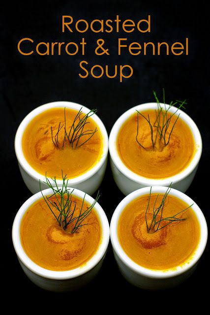 Within the Kitchen: Roasted Carrot and Fennel Soup - Ninja Blender Aut...