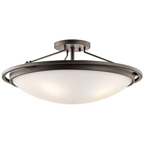 Kichler Lighting 4 Light Transitional Ceiling Semi Flush Ceiling Semi Flush 42025