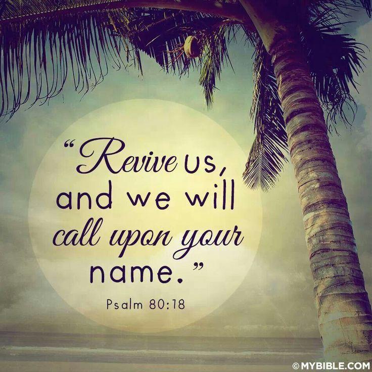 Psalms 80:18