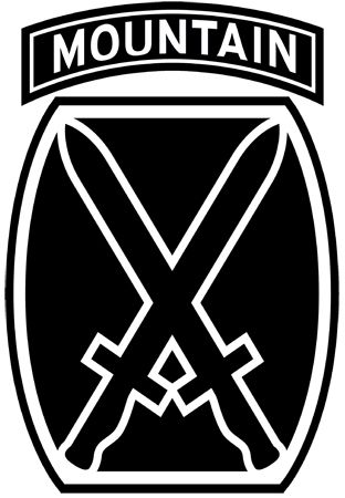 10th Mountain Division Insignia