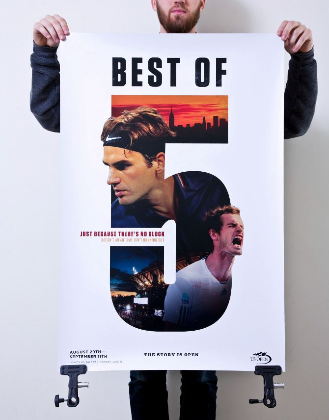 Tennis Posters - Mike Smith