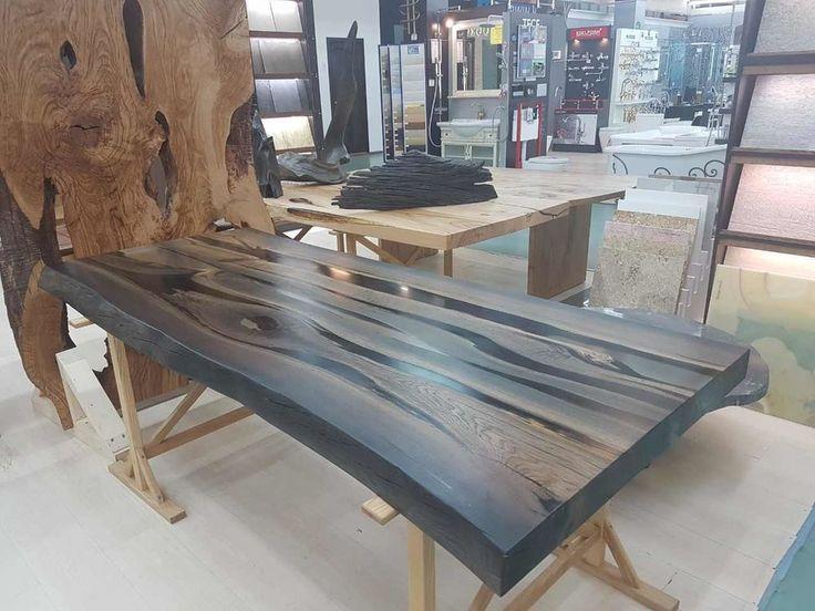 мореный дуб, стол