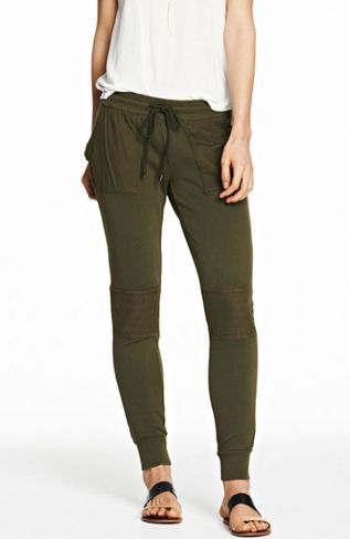 Patched Jogger Pant - Pants - Womens - Armani Exchange