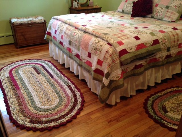 how to make crochet rugs from sheets
