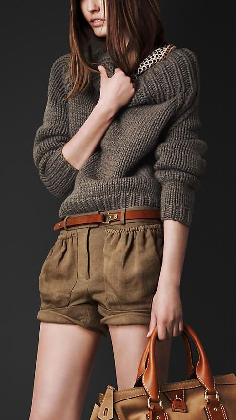 Chunky Knit Funnel Neck Sweater | Burberry  NoraQuinonez.Etsy.com