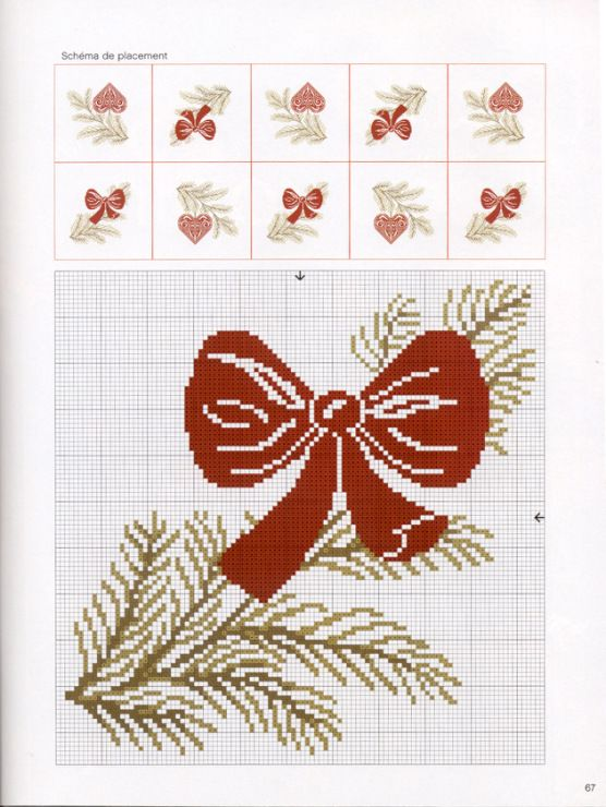 Point de croix : ❤️*❤️ cross stitch. Noël - Christmas