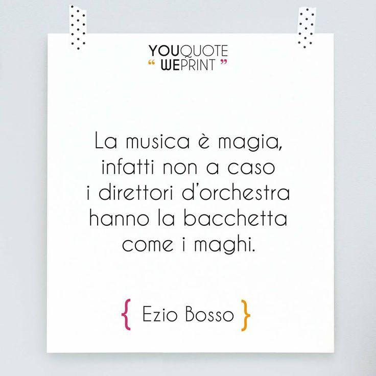 Siamo rimasti colpiti dalle parole di #EzioBosso, compositore e direttore…