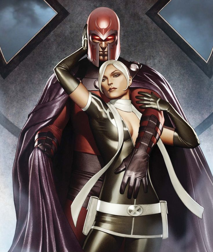 X-Men: Magneto....and Rogue?...Interesting...