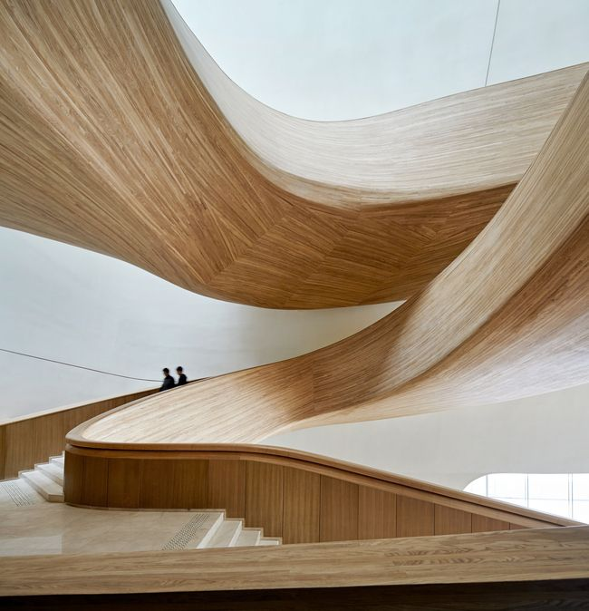 Harbin Opera House | MAD; Photo: Huffton+Crow | Archinect