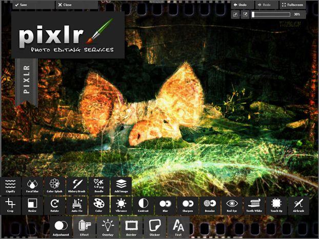 Éditeur d'images et photos en ligne et gratuit. tout pour retravailler vos images :D