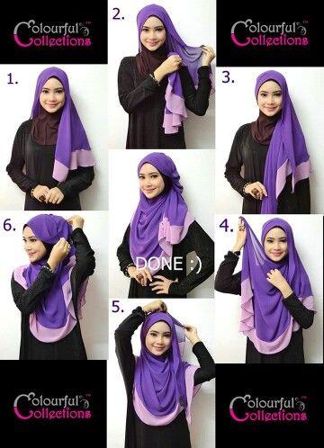 Nice hijab tutorial