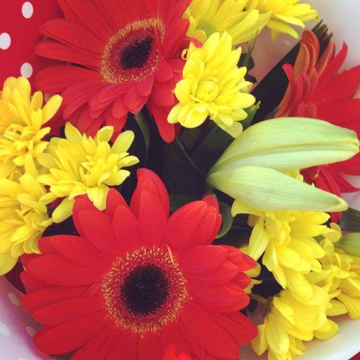 Valentine day flowers :)) 14/2/14