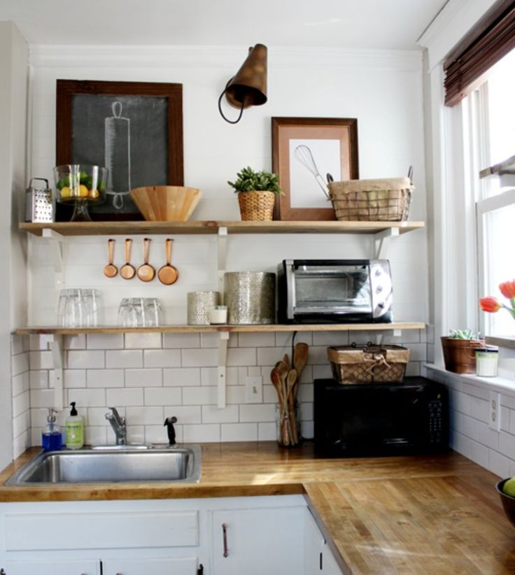 If youre building a new kitchen renovating or just have a space which could use a little diy update then open shelves might be