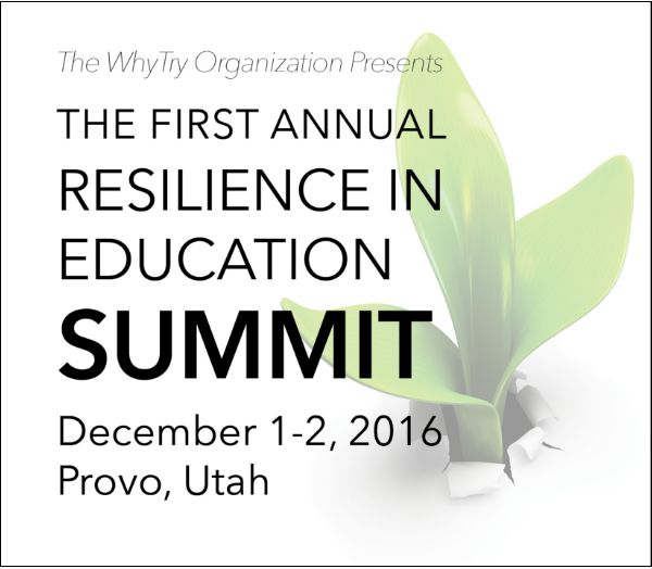 Join us for insights and strategies involving Resilience In Education! http://whytry.org/index.php?option=com_content&view=article&id=703