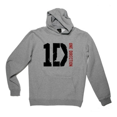One Direction - One Direction Logo Grey Hoodie