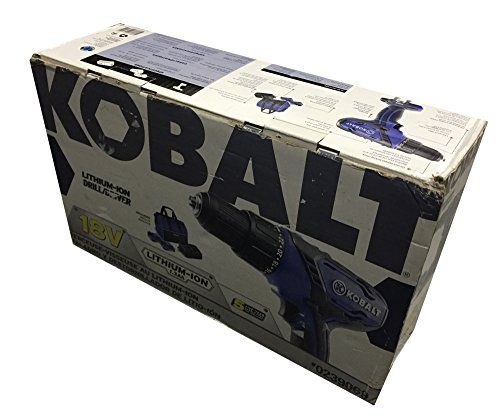 Special Offers - Cheap KOBALT 18V DRILL/DRIVER LITHIUM-ION KIT. #0239069 BOX. - In stock & Free Shipping. You can save more money! Check It (January 01 2017 at 05:32PM) >> http://hammerdrillusa.net/cheap-kobalt-18v-drilldriver-lithium-ion-kit-0239069-box/
