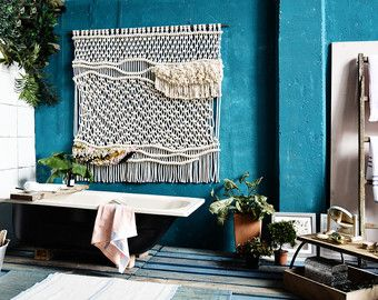 Contemporany Macrame wallhanging / headboard / Ranran Design / Wall art