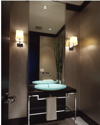 How To Decorate Powder Room 16 best powder room images on pinterest | bathroom ideas, home and
