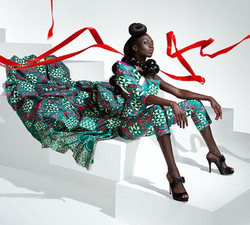 La princessa world vlisco the face of african haute couture