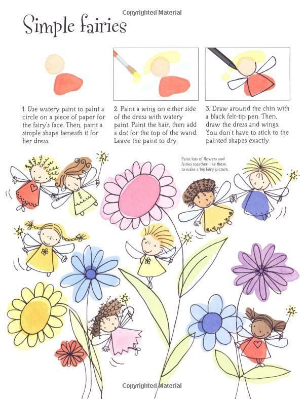 How to Draw Fairies and Mermaids (Usborne Activities): Fiona Watt: 9780794509194: Amazon.com: Books