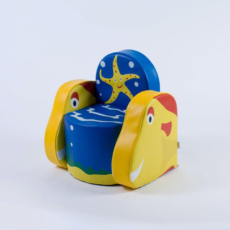 Ocean Life Kids Armchair