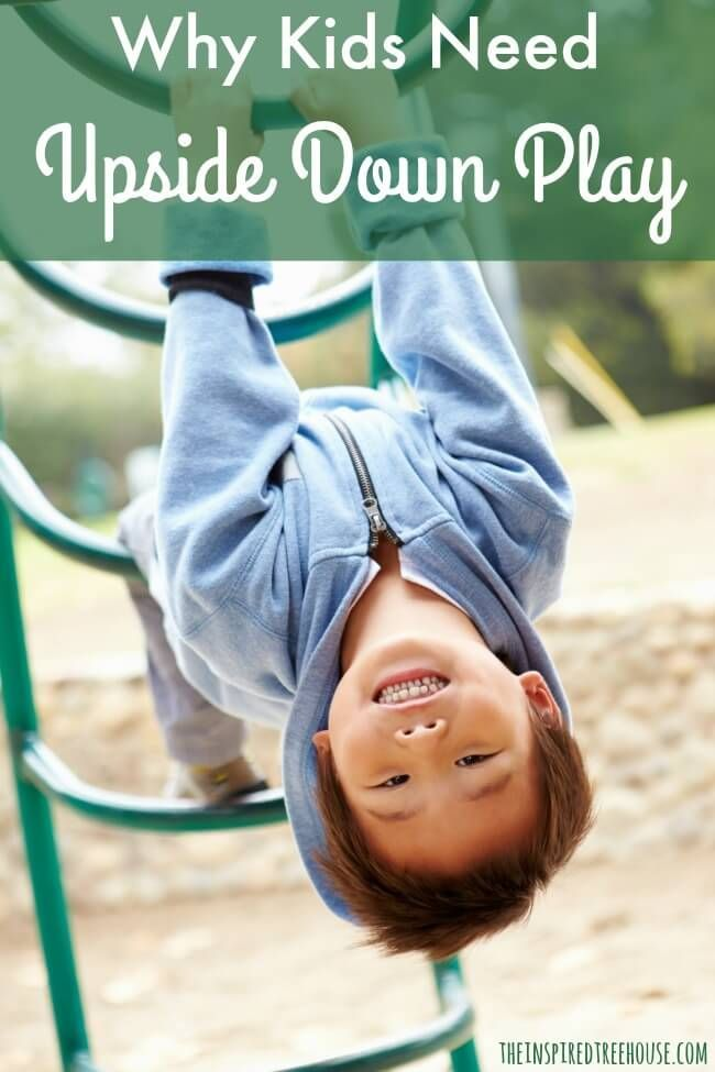 When it comes to vestibular activities for kids, flipping upside down can go a long way toward giving little ones the input they need!