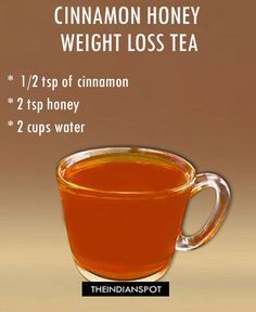 Home Remedy Weight Loss Tea! Simple & Easy                                  ...