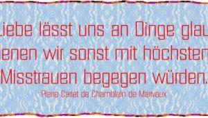 Die Liebe lässt uns an Dinge glauben...http://schmucklux.24nexx.de/