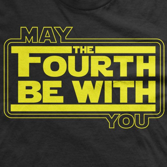 May the Fourth be with you tee May 4th shirt fandom by RocCityTees