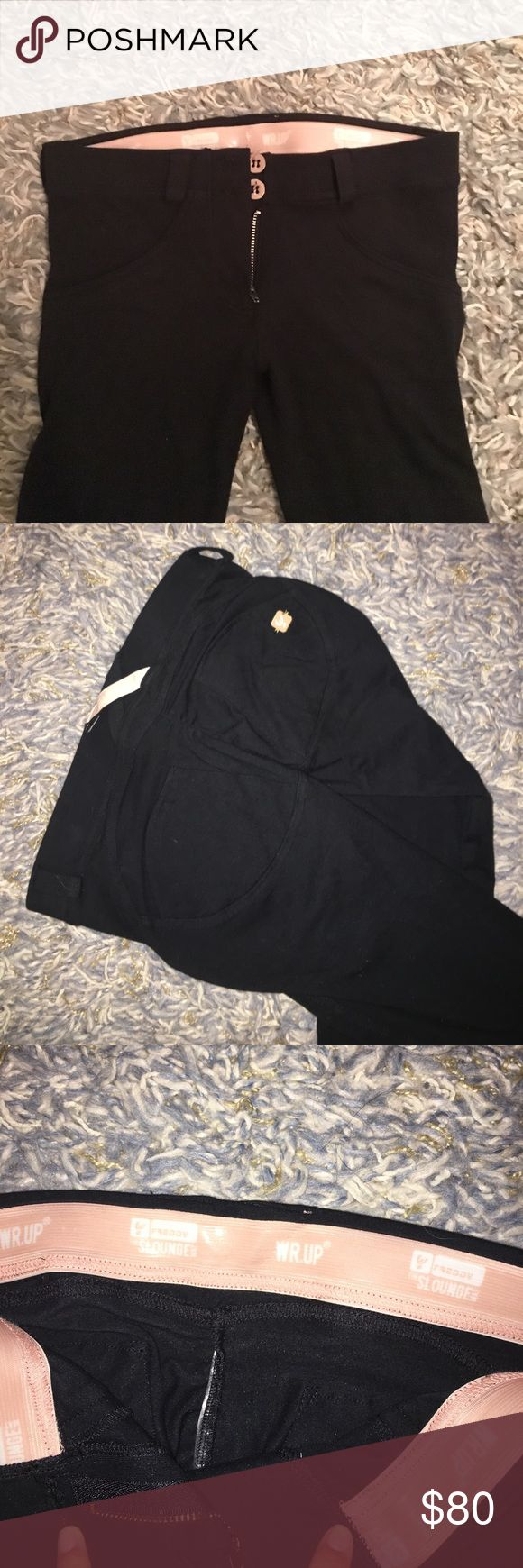 Freddy WR UP  Black Pants The figure flattering and booty lifting pants! Never worn! Freddy Pants Leggings