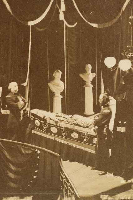 CHICAGO (AP) — It's one of the most famous Abraham Lincoln photographs, largely because no one knew the picture of the dead president lying in an open coffin existed for nearly a century until a 14-year-old boy found it.